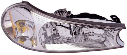 Depo 331-1166R-AS Ford Contour Passenger Side Replacement Headlight Assembly