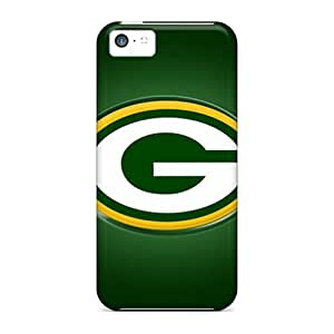 For Iphone 5c Tpu Phone Case Cover(green Bay Packers)
