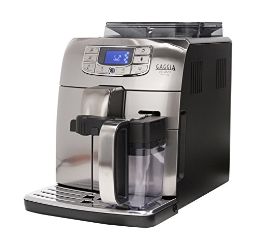 Gaggia RI8263/47 Velasca Prestige Espresso Machine, Stainless Steel (Best Coffee For Superautomatic Machine)