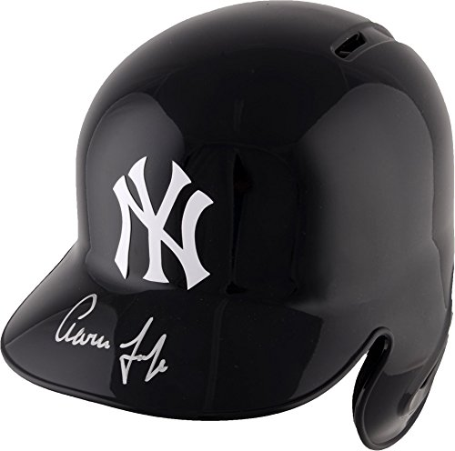 Aaron Judge New York Yankees Autographed Replica Batting Helmet - Fanatics Authentic Certified - Autographed MLB Helmets