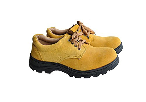 Men's Work Safety Shoes, Steel Toe Work Shoes Industrial & Construction Shoes Puncture Proof Safety Shoes (11) by GeBaoZhen (Image #3)