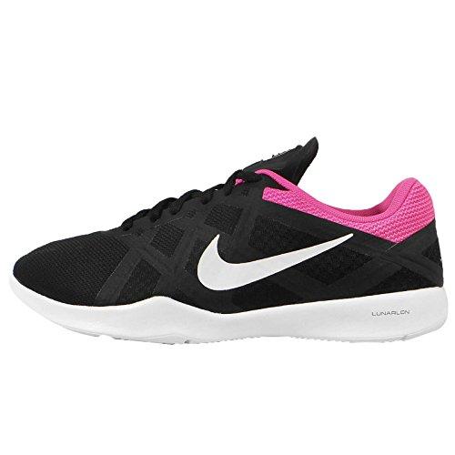 white Wmns Blast Pink De Lunar Cool Negro Zapatillas Grey Lux Mujer Para Tr Nike Gimnasia black PRBqpR