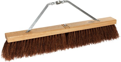 Weiler 44584 Palmyra Fiber Coarse Sweeping Broom with Wood Head, 2-1/2'' Head Width, Natural by Weiler