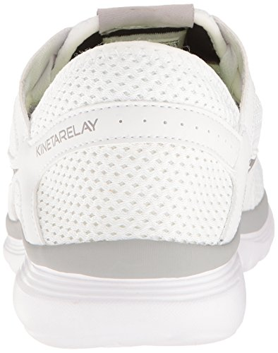 Running White Grey Shoes Saucony Relay Kineta Men's qBxtwtYXF