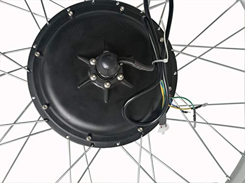 """26""""/ 28"""" 36V/ 48V 250W/ 1000W Kit di Conversione del Motore della Bici Elettrica della Ruota Anteriore Mozzo della Ruota della Bici Elettrica Anteriore Mozzo della Bici della Bicicletta Anteriore Kit del Motore della Bici Elettrica della Ruota Anteriore 3 spesavip"""