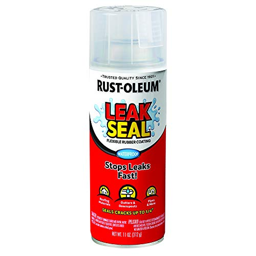 Rust-Oleum 265495 LeakSeal Flexible Rubber Coating Spray