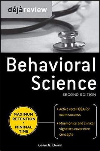 Kết quả hình ảnh cho Deja Review - Behavioral Science