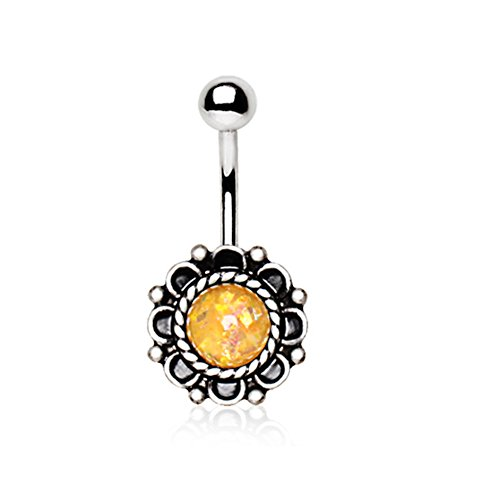 Charm Belly Ring - 5
