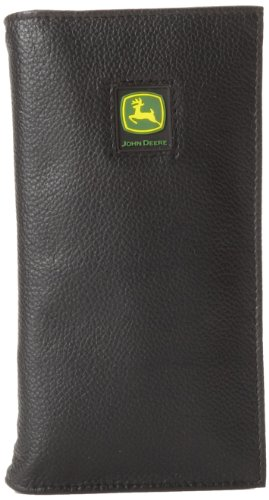 John Deere Checkbook (John Deere Men's Checkbook Cover,Black,One Size)