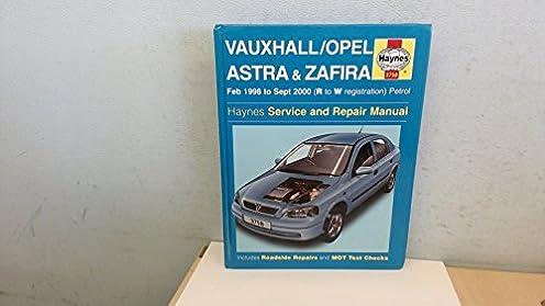 vauxhall opel astra and zafira petrol service and repair manual rh amazon com Cartoon Manual Car Owners Manual