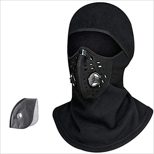 - Tckoudai Warm and Windproof Hood, Riding Mask Winter Outdoor Plus Velvet Bib Cold Smog Masks Unisex,A