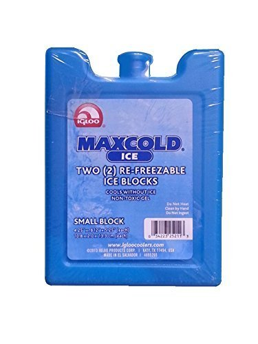 Igloo Maxcold Ice Freezer Block, Small, 2-pack