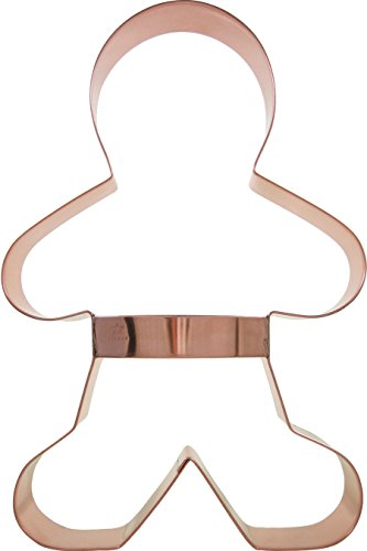 CopperGifts: Gingerbread Man Cookie Cutter (Huge)