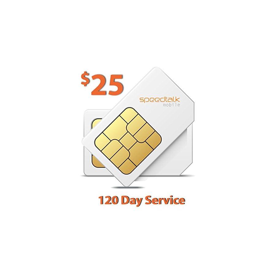 $25 Prepaid GSM Sim Card for GPS Tracker Devices Locators Pet Senior Kid 120 Day Wireless Service