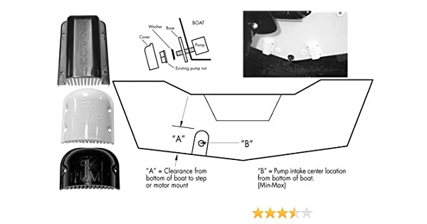 Amazon.com : T-H Marine EZ-WHT-2-DP EZ Pump Advanced Water Pick-Up on boat live well diagrams, boat wiring diagrams, boat livewell aerator system, boat live well pumps repair,
