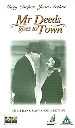 Mister Deeds Goes To Town [Reino Unido] [VHS]: Amazon.es ...