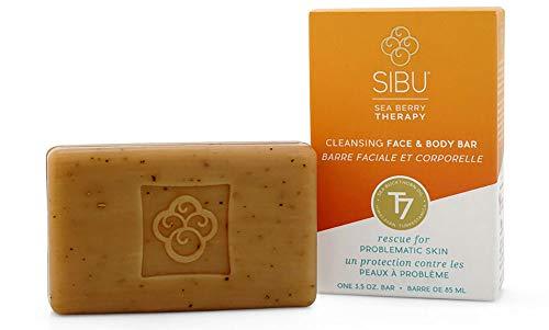 SIBU Beauty Cleansing Face & Body Bar, 3pk