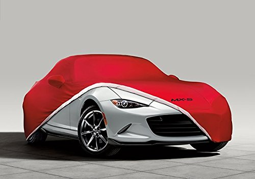 Indoor 0000-8J-D07 2017 Mazda MX-5 Retractable Fastback Genuine Mazda MX-5 RF Car Cover