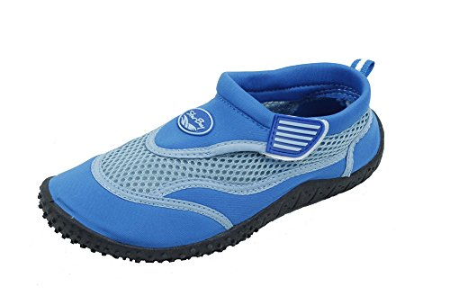 Sunville Brand New Kids Slip-On Athletic Blue Water Shoes/Aqua Socks Size 11 by Sunville