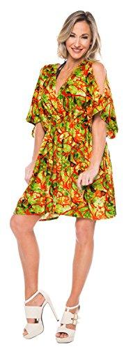 ... La Leela Strand Designer leichte Bluse Badebekleidung Badeanzug-Bikini-Vertuschung  Kleid grün ...