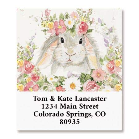 (Bunny Select Return Address Labels - Set of 144 1-1/8