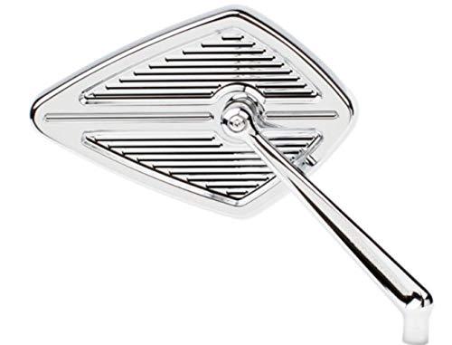 Arlen Ness Diamond Billet Mirror Left Hand Chrome 13-127