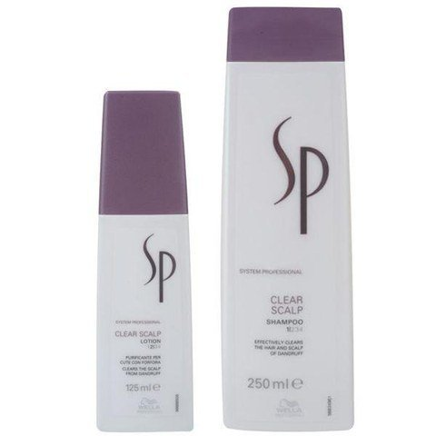 Wella Sp Clear Scalp Duo - Shampoo And Leave-In Lotion