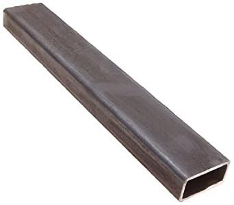 A36 Carbon Steel Hollow Rectangular Bar, Hot Rolled, Inch, ASTM A36