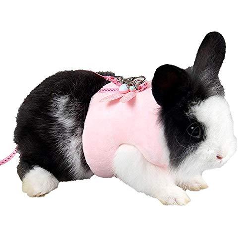 ASOCEA Hamster Harness Leash Soft Fleece Small Animal Vest Nylon Lead Rat Guinea Pig Bunny Gerbil...