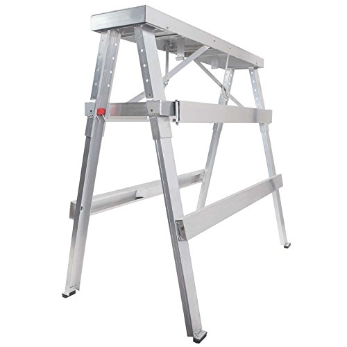 GypTool Adjustable Height Drywall Taping & Finishing Walk-Up Bench: 18 in. - 44 in. ()