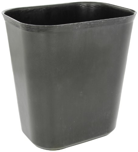 Rubbermaid Commercial FG254100BLA Thermoset Polyester Fire-Resistant Wastebasket, ()
