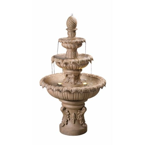 Outdoor Lighted Garden Fountains in US - 7