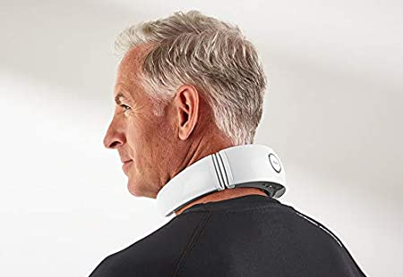 Sharper Image 3 In 1 Heated Neck Therapy With Remote by Sharper Image