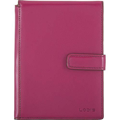Lodis Audrey Travel Wallet - Lodis Accessories Women's Audrey Passport Wallet w/Ticket Flap Berry/Avocado One Size