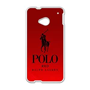 Exquisite stylish phone protection shell HTC One M7 Cell phone case for POLO LOGO pattern personality design