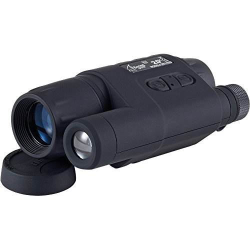 Bering Optics BE14028 ELF2 2.0X Gen 1 Compact Night Vision Monocular, 28mm, Black