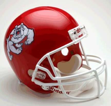 Riddell Fresno St. Bulldogs Deluxe Replica Helmet (Bulldogs Deluxe Replica Helmet)