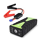 Archeer 800A Peak Portable Car Jump Starter 16800mAh Power Bank High Capacity External Battery Charger With LED...