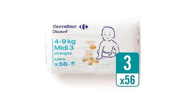 Carrefour descuento tamaño 3 Carry Pack 56 por paquete caso de 4 ...