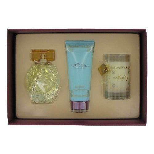 Hilary Duff With Love Gift Set - With Love by Hilary Duff for Women - 3 Pc Gift Set 3.3oz EDP Spray, 3.3oz Moisturizing Body Lotion, 2.5in Candle