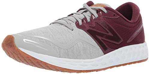 New Balance Men's Veniz V1 Fresh Foam Running Shoe, White/Silver Mink, 9.5 D US