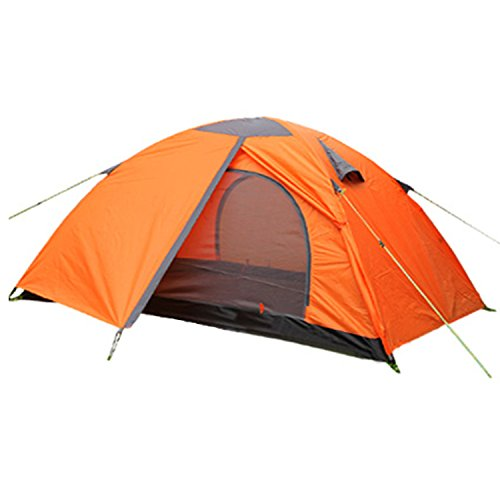 2 person Person Double Layer C&ing Tent - Waterproof Lightweight Backpacking Tent for C&ing with Carry Bag  sc 1 st  Amazon.com & 2 Person Lightweight Backpacking Tent: Amazon.com