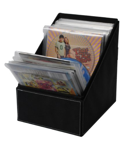 Atlantic Media Bin Storage with sleeves for CDs, DVDs and Video - Dvd Movie Sleeves