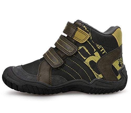 iDuoDuo Boys Girls Waterproof Sport Hiking Boots Strap Anti Slip Winter Wide Boots Little Kid//Big Kid