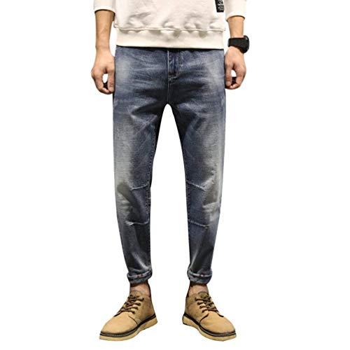 Retrò In Jeans Fit Moda Classiche Vestibilità Casual Blau Ragazzi Regolare Denim Uomo Pantaloni A Da Slim zP8qdxOYwY