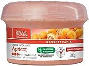 Creme Esfoliante Apricot Forte Abrasão, D'agua Natural, 3