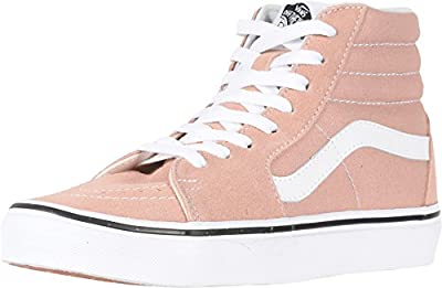 Vans SK8-Hi Fashion Sneakers Mahogany Rose/True White Size 7 Men/8.5 Women