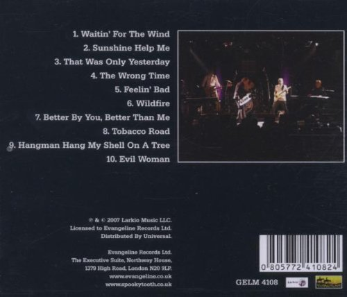 Nomad Poets: Live In Germany 2004 by Spooky Tooth