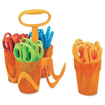 Fiskars® for kids No. 5 Scissors SCISSORS,CLASSPK,BLNT,AST (Pack of2) by FISKAR