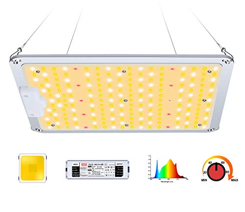AOPO LED Grow Light for Indoor Plants, Plant Growing Lamp with LM301B Diodes & Dimmable Mean Well Driver Sunlike Full…